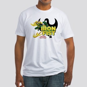 Iron Fist Fitted T-Shirt