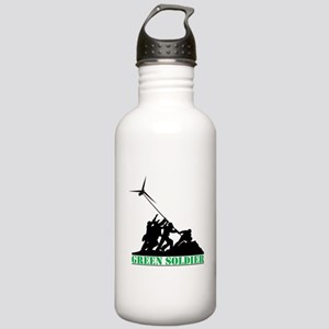 Green Soldier Wind Tur Stainless Water Bottle 1.0L