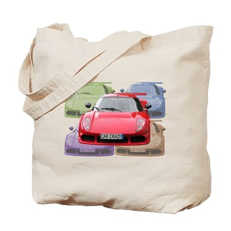 ...Car Crazy... Tote Bag