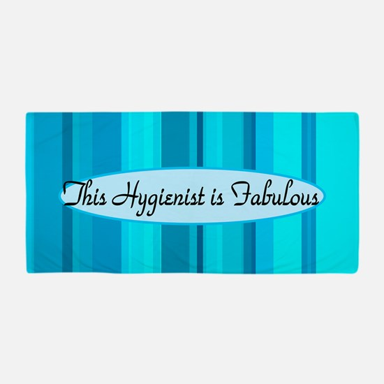 Blue Hygienist Beach Towel