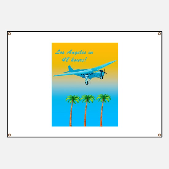 Air Travel Vintage Style Banner