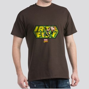 Iron Fist Logo Dark T-Shirt