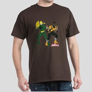 Iron Fist and Luke Cage Minimalist Dark T-Shirt