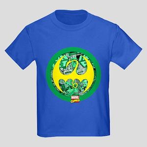 Iron Fist Logo 2 Kids Dark T-Shirt