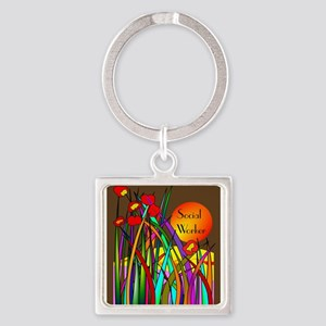 social worker 2014 2 Keychains