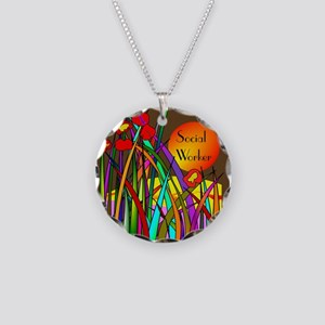 social worker 2014 2 Necklace
