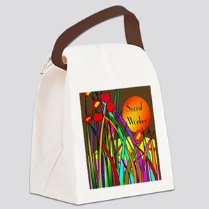 social worker 2014 2 Canvas Lunch Bag