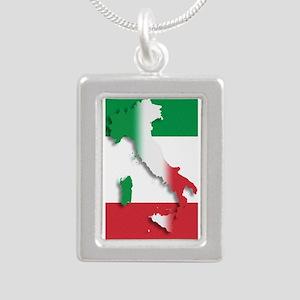 Italy Italian Flag Necklaces