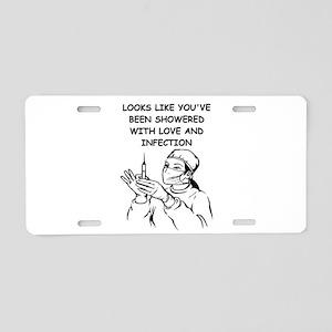 66 Aluminum License Plate