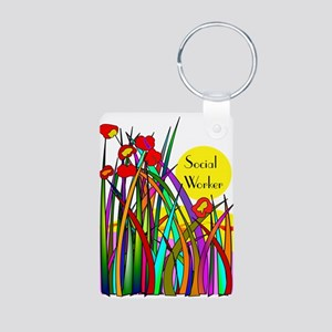 Social Worker 2014 1 Keychains