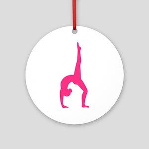 Rhythmic Gymnastics Ornament (Round)