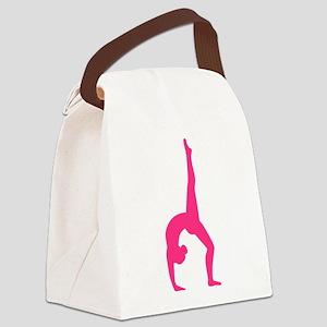 Rhythmic Gymnastics Canvas Lunch Bag