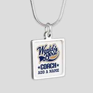 Personalized Coach Gift Necklaces