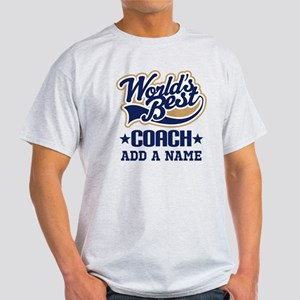 Personalized Coach Gift T-Shirt