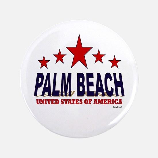 """Palm Beach U.S.A. 3.5"""" Button"""