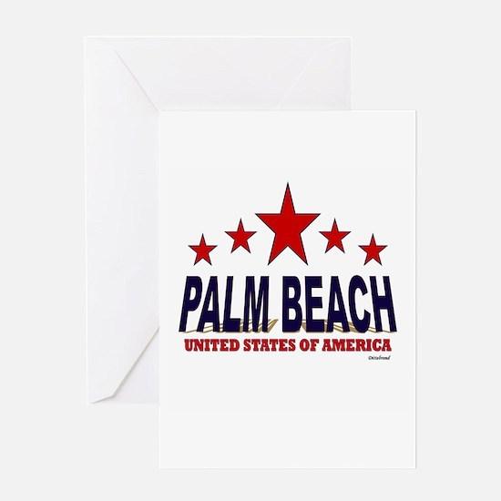 Palm Beach U.S.A. Greeting Card