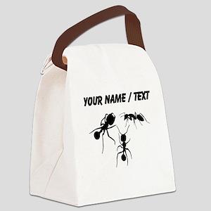 Custom Ants Canvas Lunch Bag