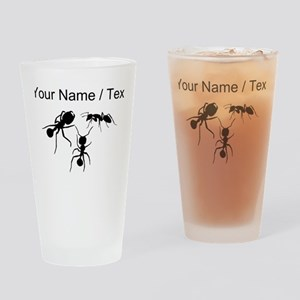 Custom Ants Drinking Glass