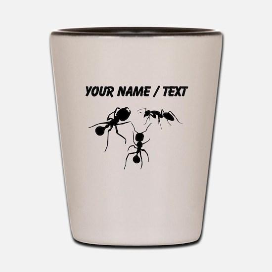 Custom Ants Shot Glass