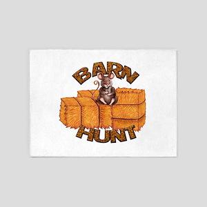 Barn Hunt 5'x7'Area Rug