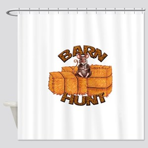 Barn Hunt Shower Curtain