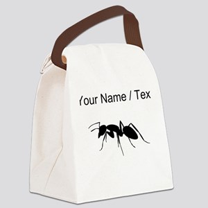 Custom Carpenter Ant Canvas Lunch Bag