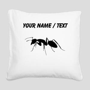 Custom Carpenter Ant Square Canvas Pillow