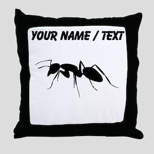 Custom Carpenter Ant Throw Pillow