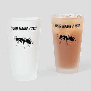 Custom Carpenter Ant Drinking Glass