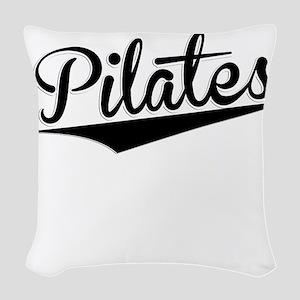 Pilates, Retro, Woven Throw Pillow