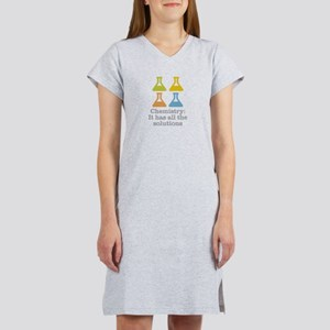 Chemistry Solutions Women's Nightshirt