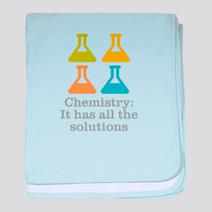 Chemistry Solutions baby blanket