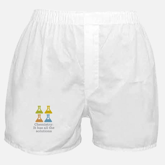 Chemistry Solutions Boxer Shorts