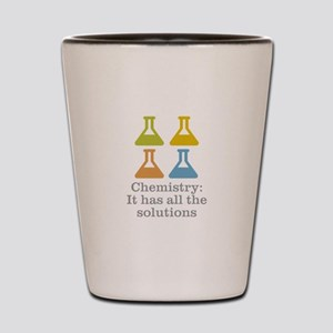 Chemistry Solutions Shot Glass