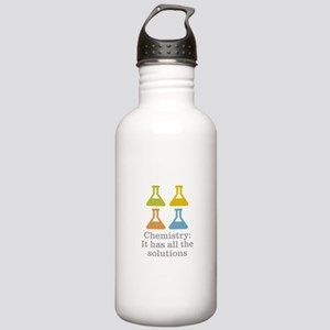 Chemistry Solutions Stainless Water Bottle 1.0L