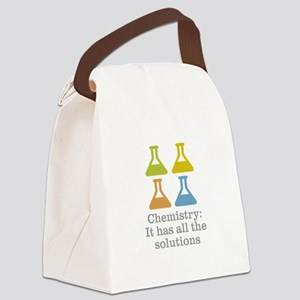Chemistry Solutions Canvas Lunch Bag
