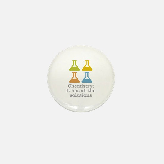 Chemistry Solutions Mini Button