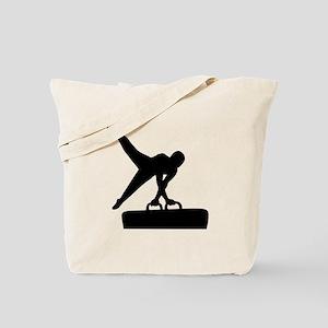 Gymnast pommel horse Tote Bag