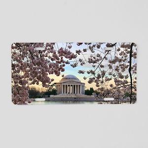 Jefferson Memorial Aluminum License Plate