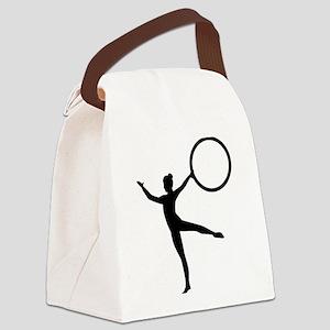 Gymnastics gymnast Canvas Lunch Bag