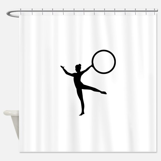 Gymnastics gymnast Shower Curtain