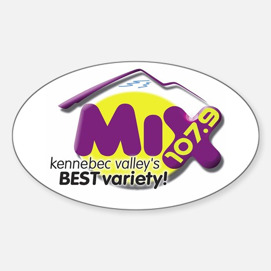107.9 The Mix Logo Decal