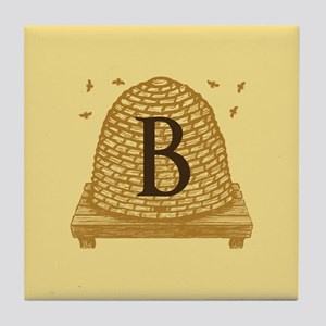 MONOGRAM Bee Hive Tile Coaster