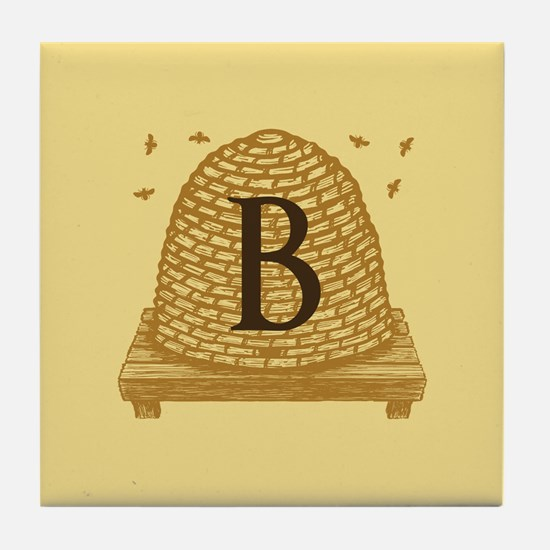 MONOGRAM Bee Hive Tile Coaster