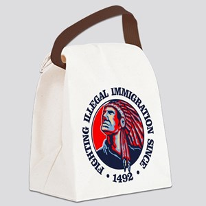 Native American (Illegal Immigration) Canvas Lunch