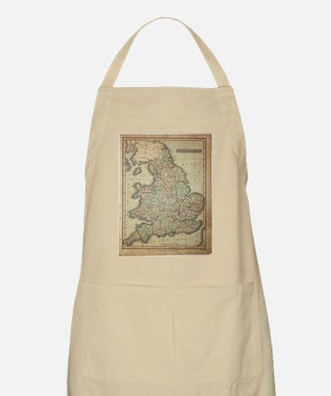 1808 Map of England and wales Apron
