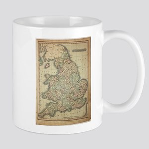 1808 Map of England and wales Mugs