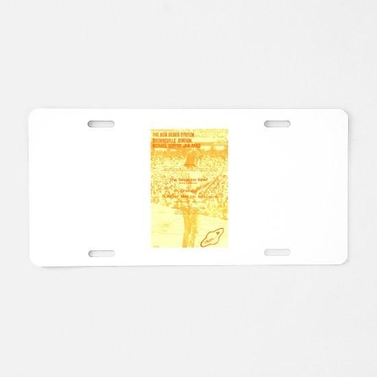 Quatro, Seger & Brownsville Aluminum License Plate