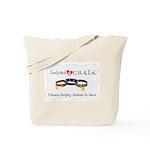 Chain Logo Tote Bag