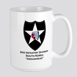 2nd Infantry Indianhead Mugs